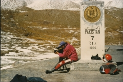 1991 Khunjerab Pass Grenze Pakistan_China